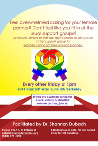 Support Group for Women Caring for their Women Partners